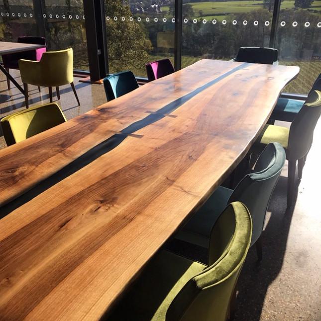 Walnut River Table