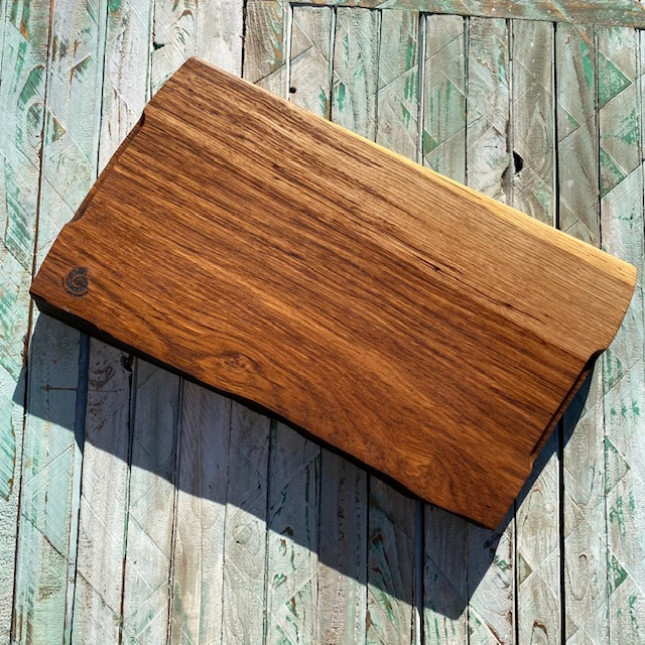 Brown Oak Chopping and Serving Board