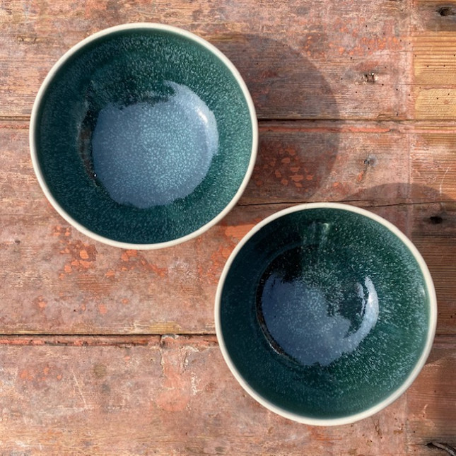 Set of Two Breakfast Bowls