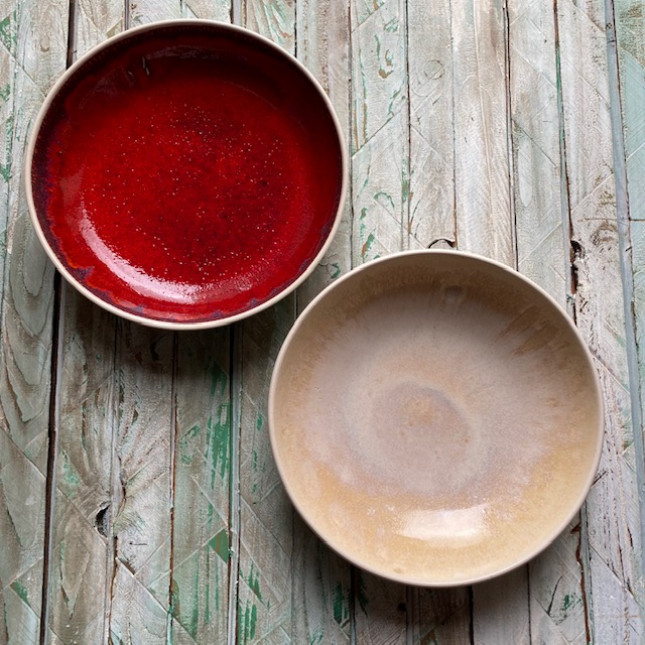 Set of Two Serving/Pasta Bowls