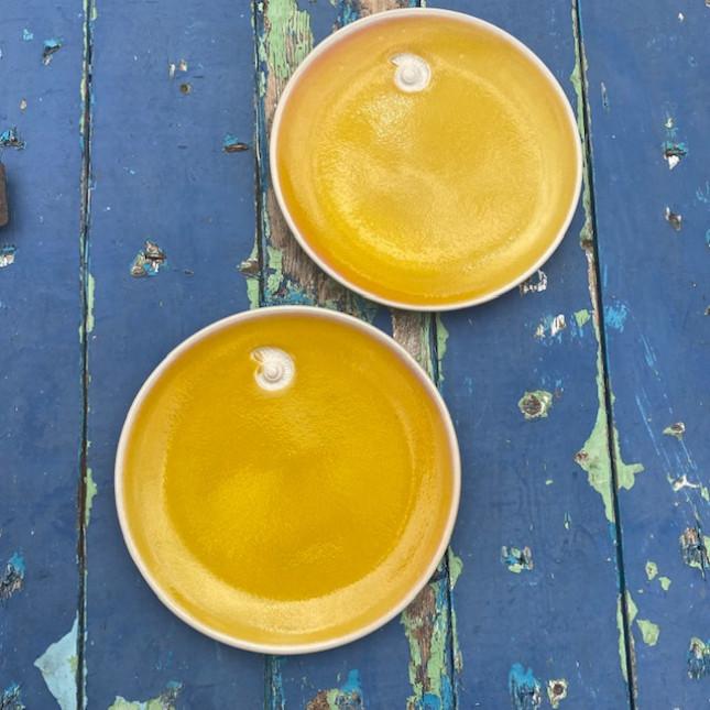 Set of Two Dessert Plates