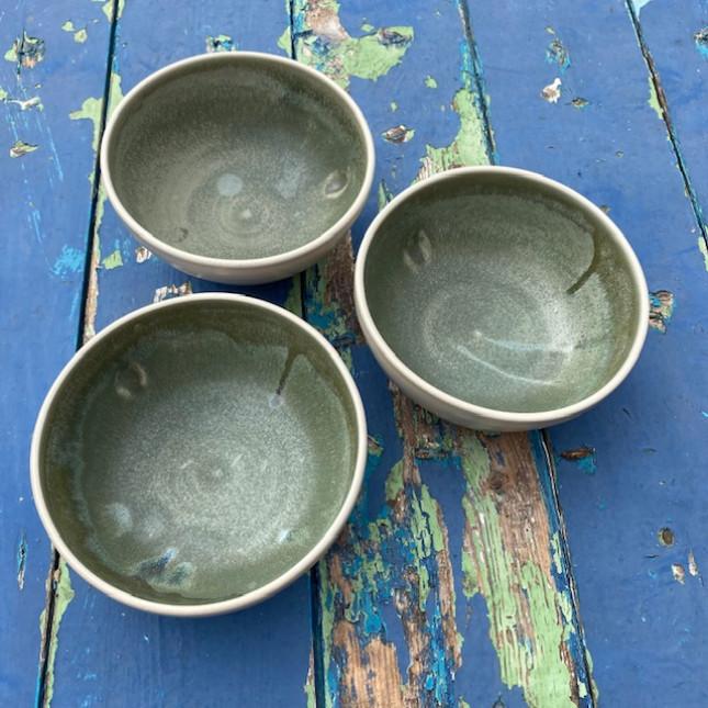 Set of Three Breakfast Bowls