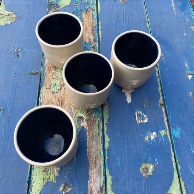 Set of Four Beakers