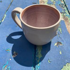 Soft pink and Cream Mug