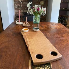 Textured Oak Serving Board