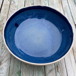 Blue Chun Serving Bowl