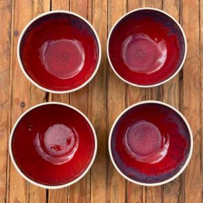 Set of Four Breakfast Bowls