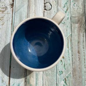 Blue Chun and Cream Mug