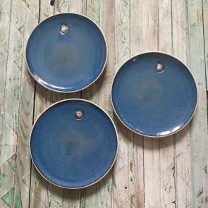 Set of Three Dessert plates