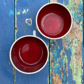 Set of Two Straight Sided Bowls
