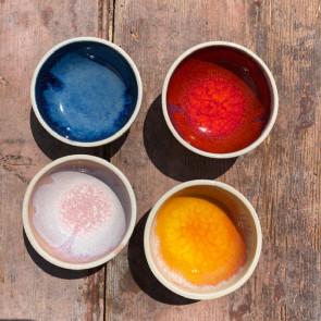Set of Four Tiny Bowls